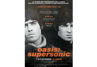 Oasis Poster Supersonic Filmplakat