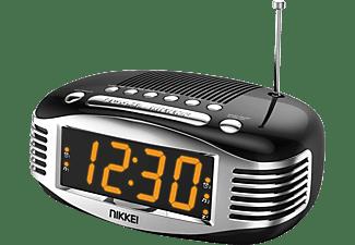 Nikkei wekkerradio zwart