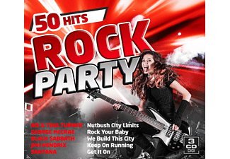 VARIOUS - Rock Party-50 Hits - (CD)