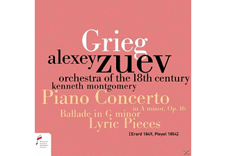 Alexey Zuev - Piano Concerto In a minor,op.16 & Ballade In G M - (CD)