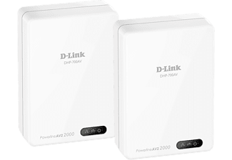 D-LINK DHP-701AV PowerLine AV2 2000 HD Gigabit Starter Kit