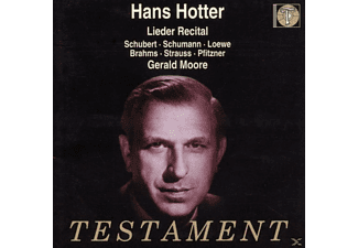 Hans Hotter - Lieder Recital - (CD)