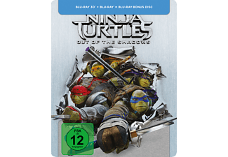 Teenage Mutant Ninja Turtles: Out Of The Shadows - Exklusives Steelbook [Blu-ray]