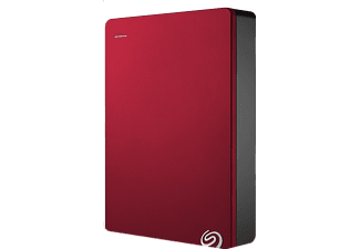 SEAGATE Backup Plus Portable 4TB Rood