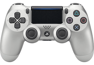SONY PS4 Wireless Dualshock 4 Controller Silber, Controller