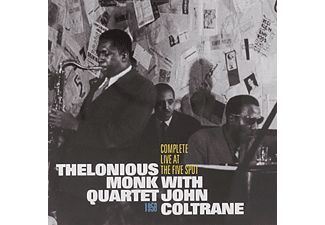 Thelonious Monk & John Coltrane - Complete Live at the Five Spot 1958 (CD)