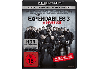 The Expendables 3 - A Man's Job [4K Ultra HD Blu-ray + Blu-ray]
