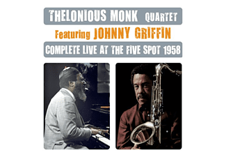 Thelonious Monk Quartet - Complete Live at the Five Spot 1958 Feat. Johnny Griffin (CD)