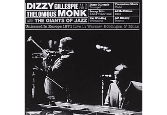 Thelonious Monk & Dizzy Gillespie - Unissued in Europe 1971: Live in Warsaw (CD)