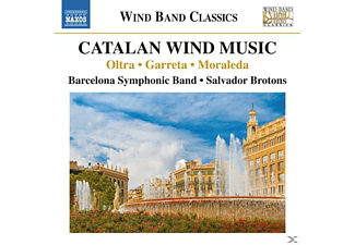 Barcelona Symphonic Band - Brotons - Catalan Wind Music - (CD)