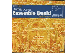 ENS.DAVID - Ensemble David-Coptic Liturgies - (CD)