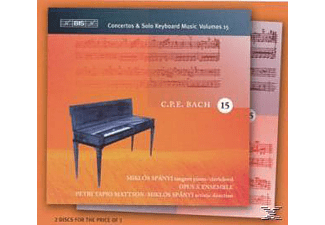 Miklos Spanyi - CONCERTOS & SOLO KEYBOARD MUSIC VOL - (CD)