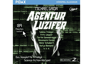 Michael Gaida - Agentur Luzifer [MP3-CD]
