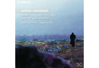 Yoffe Gluzman - BALLET FOR A LONELY VIOLINIST - (CD)
