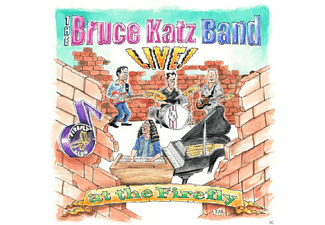 Bruce Band Katz - Live! At The Firefly [CD]