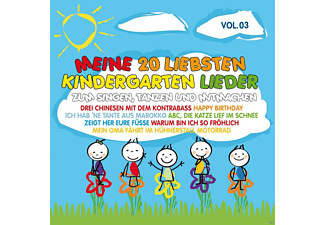 VARIOUS - Meine 20 Liebsten Kindergarten Lieder Vol.3 - (CD)