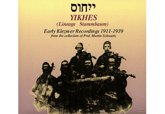 VARIOUS - Yikhes-Early Klezmer Recordings 1911-1939 [CD]