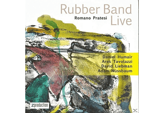Romano - Rubber Band- Pratesi - Rubber Band Live - (CD)