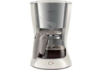 PHILIPS HD 7462/01 Daily Collection, Kaffeemaschine, Weiß/Metallic