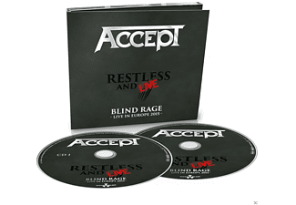 Accept - Restless And Live - (CD)