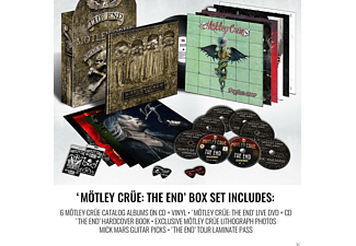 Mötley Crüe - The End - (LP + DVD + CD)