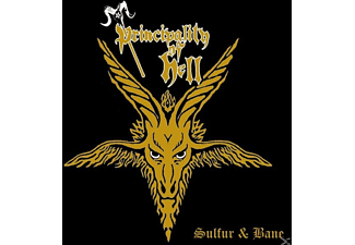 Principality Of Hell - Sulfur And Bane - (CD)