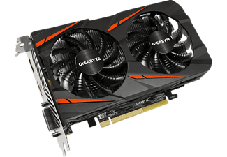 GIGABYTE Radeon RX 460 Windforce OC 2GB (GV-RX460WF2OC-2GD)( AMD, Grafikkarte)