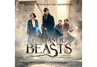 James Newton Howard - Fantastic Beasts a.Where to Find Them/OST Deluxe - (CD)