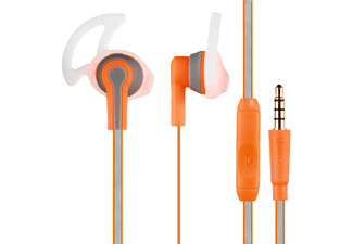 HAMA In-ear Stereo Hörlur Reflective - Orange / Neon