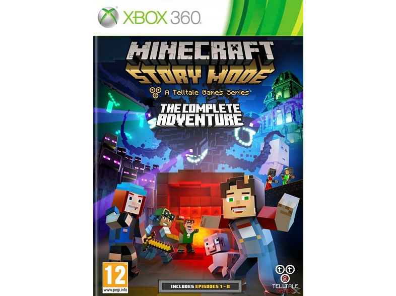 Minecraft Story Mode The Complete Adventure Xbox 360 gaming games xbox 360 games