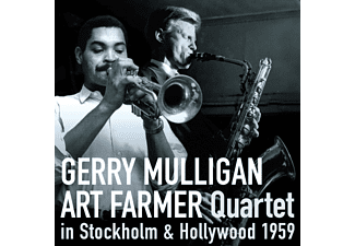 Gerry Mulligan - Art Farmer Quartet - In Stockholm & Hollywood 1959 (CD)