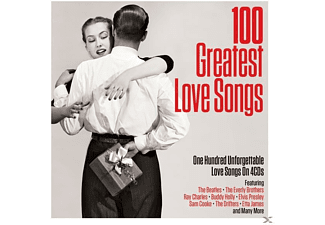 VARIOUS - 100 Greatest Love Songs - (CD)