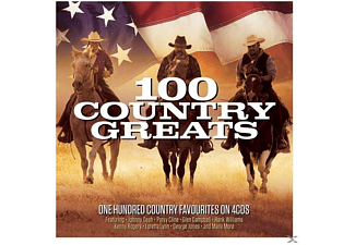 VARIOUS - 100 Country Greats - (CD)