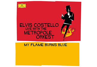 Elvis Costello - My Flame Burns Blue - (Vinyl)