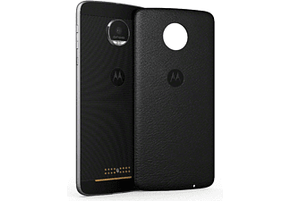 MOTOROLA Moto Z Backcover- Black Leather