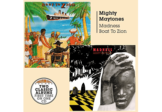 The Mighty Maytones - Madness/Boat To Zion - (CD)