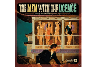 "VARIOUS - The Man With The Licence (10"") - (Vinyl)"