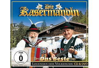 Kasermandln - Das Beste-Legenden der Volks - (CD + DVD Video)