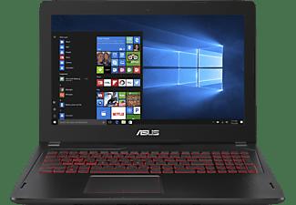 ASUS FX502VM-FY249T, Gaming Notebook mit 15.6 Zoll Display, Core™ i7 Prozessor, 8 GB RAM, 512 GB SSD, GeForce GTX 1060, Schwarz
