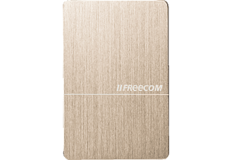 FREECOM 56382, 2 TB, Gold, 2.5 Zoll