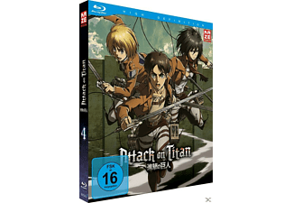Attack on Titan Vol. 4 [Blu-ray]