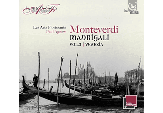 Les Arts Florissants & Agnew - Madrigali Vol.3 Venezia - (CD)