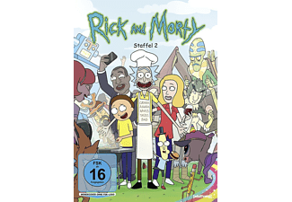 Rick and Morty - Staffel 2 - (DVD)