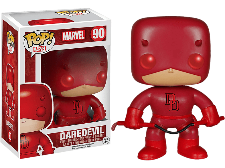 Pop! Marvel Daredevil Red #90 Bobble Head gaming παιχνίδια φιγούρες