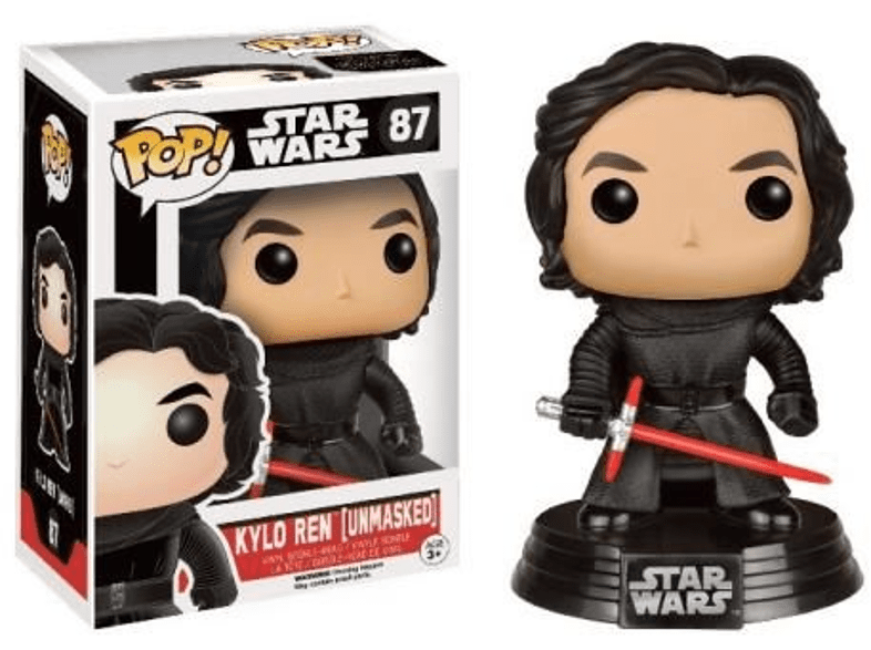 Pop! Star Wars Kylo Ren Unmasked #87 gaming παιχνίδια φιγούρες