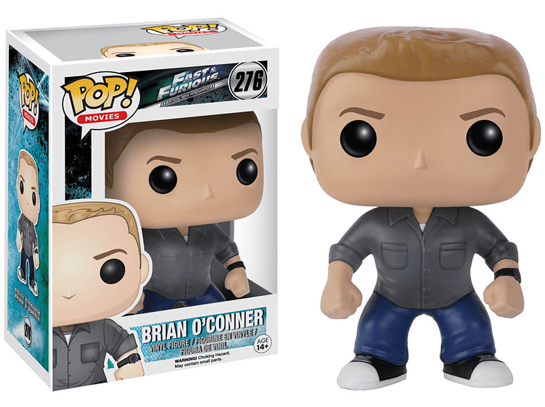 Pop! Movies: Fast & Furious Brian O'Conner #276 gaming παιχνίδια φιγούρες