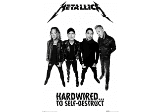 Metallica Poster Hardwired Band