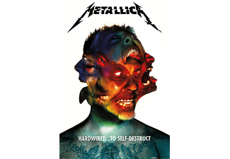 Metallica Poster Hardwired Albumcover