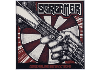 Screamer - Adrenaline Distractions - (CD)