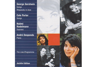 Andre Desponds, Noemi Nadelmann - Noemi Nadelmann Sings Gershwin And Porter - (CD)